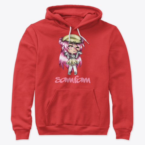 Samfam Gl Red T-Shirt Front