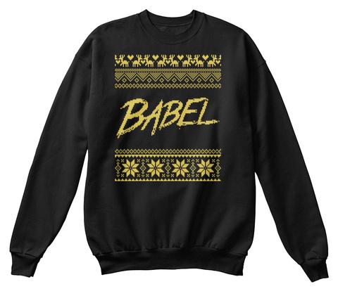 Babel Black T-Shirt Front