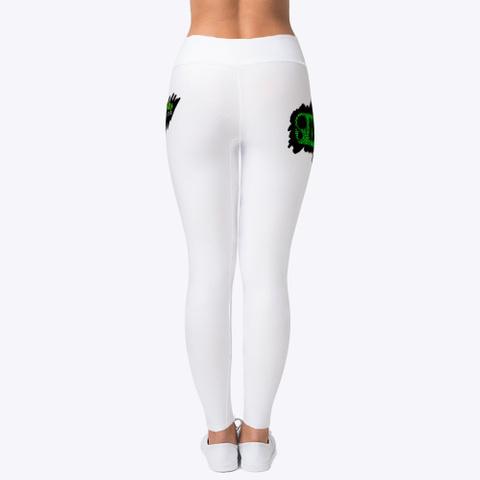 Spiel'z Girlz White Leggings Standard T-Shirt Back
