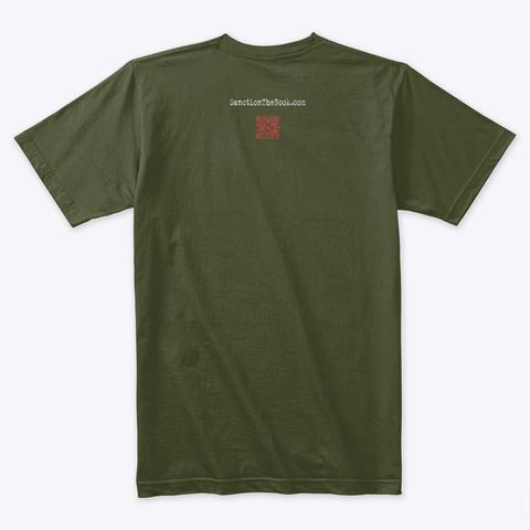 Jack 4, Sanction Jack Of Spades Military Green T-Shirt Back