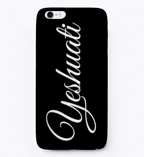 Yeshuati (My Salvation)   Phone Cases Black T-Shirt Front