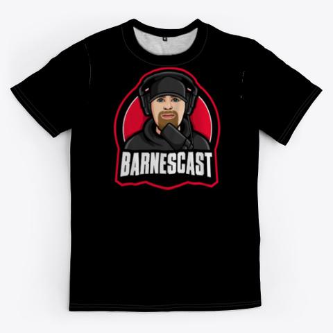 Barnescast 2 Black T-Shirt Front