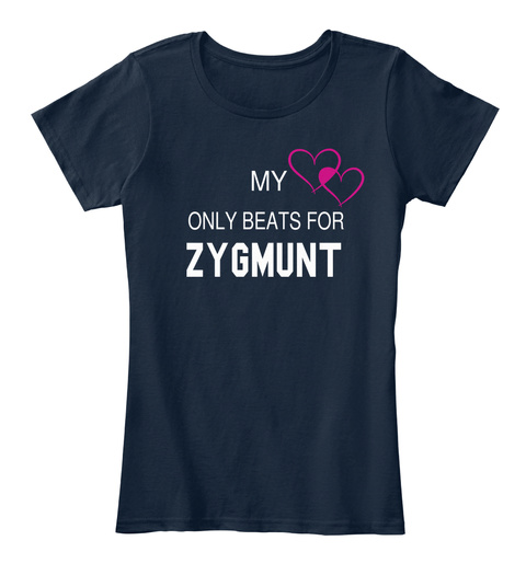 My heart only beats for ZYGMUNT Tee Unisex Tshirt