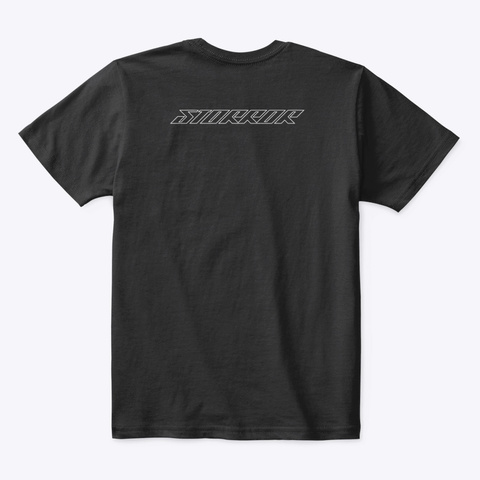 Classic Storror Logo Black T-Shirt Back