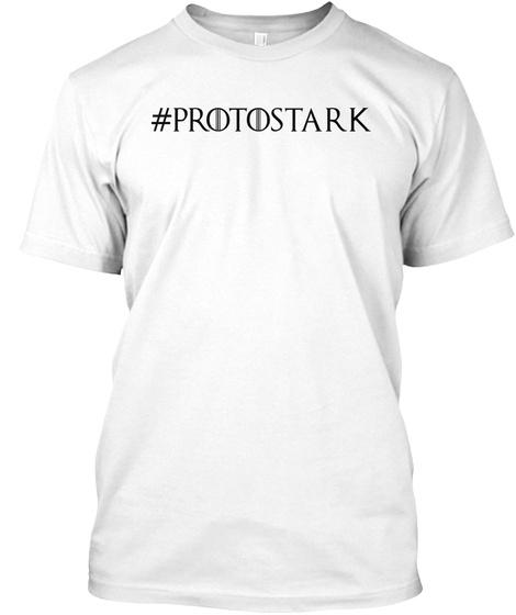 Protostark White T-Shirt Front