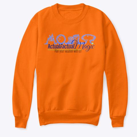 Actual Factual Magic Orange  T-Shirt Front