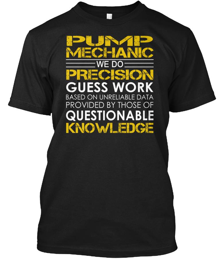 Pump Mechanic - Precision LongSleeve Tee