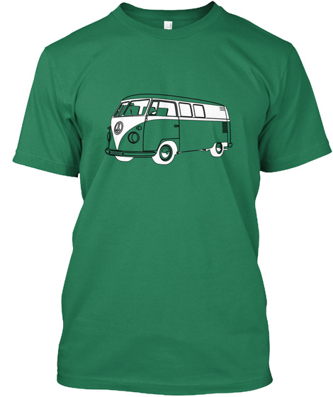 Micro Bus Kelly T-Shirt Front