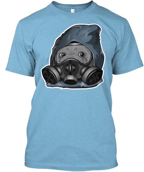 Crying Seal Aqua T-Shirt Front