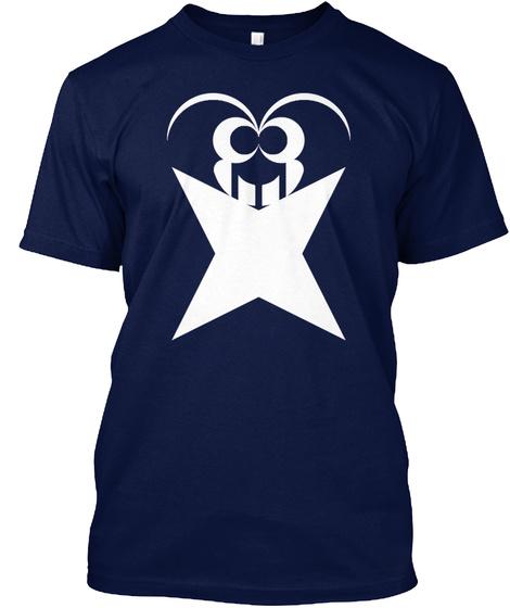 Xnfluence Men's T Shirt   Navy Blue Navy T-Shirt Front