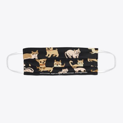 Cat/ Dog Face Covering Standard T-Shirt Flat
