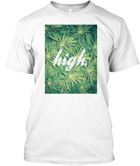 High White T-Shirt Front