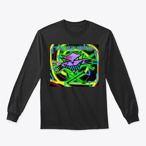 Gatto Di Morte Black T-Shirt Front