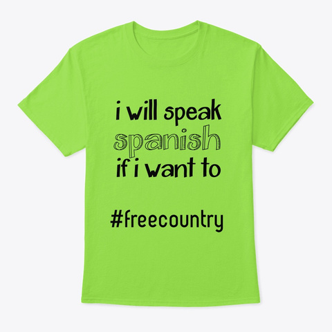 #Freecountry Lime T-Shirt Front