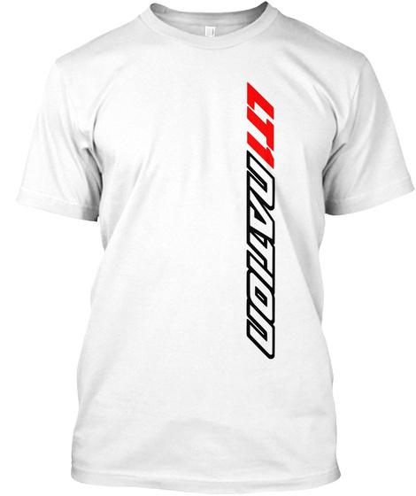 Lt1 Nation White T-Shirt Front