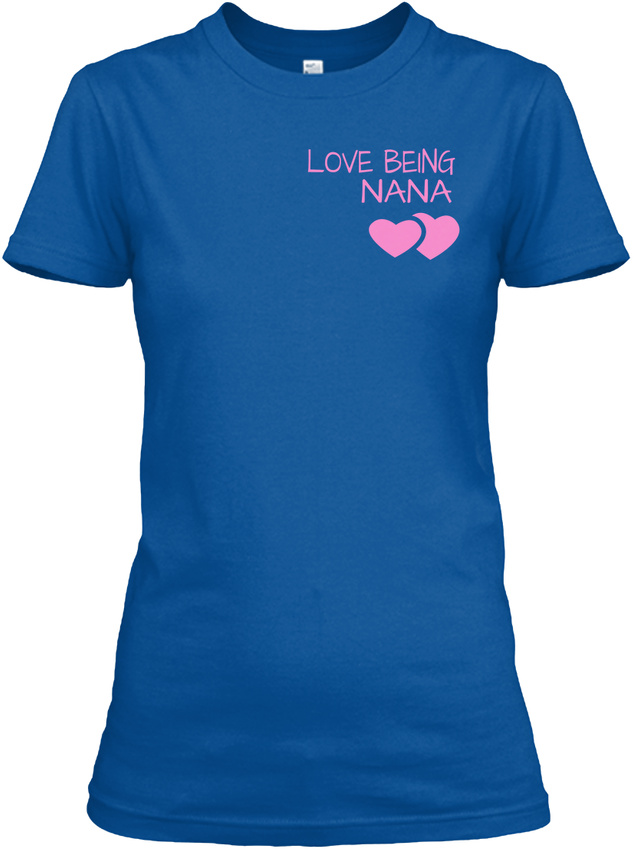 Nana-The-Moment-Tee-Child-Version-Love-Being-Nana-Gildan-Women-039-s-Tee-T-Shirt thumbnail 10