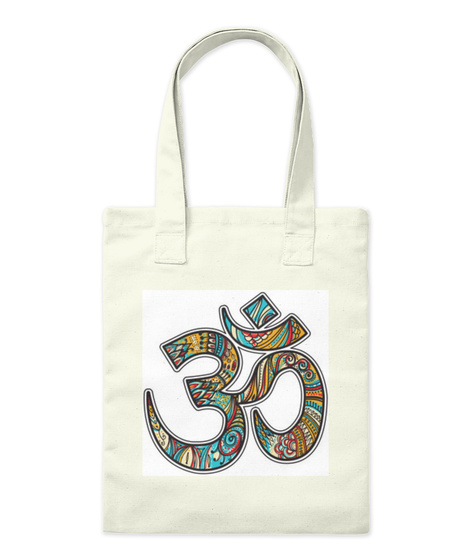 Om Accessories And Clothing Natural T-Shirt Front