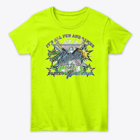 Ok Xpl Safety Green T-Shirt Front