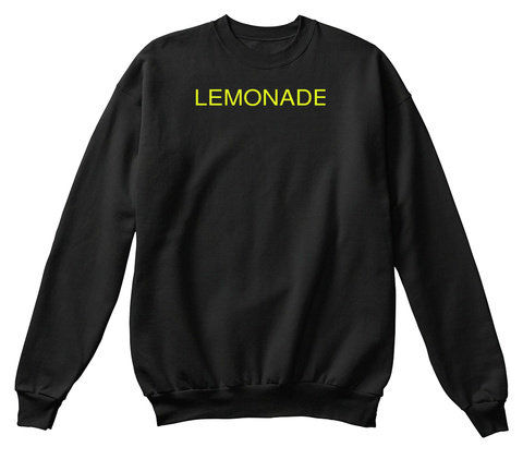 Lemonade Black T-Shirt Front