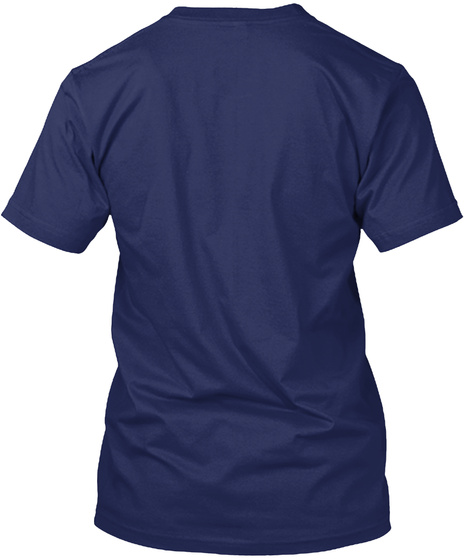 #Save The Vaquita Navy T-Shirt Back