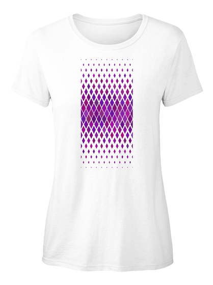 Violet Sports Ellesson White Damen T-Shirt Front