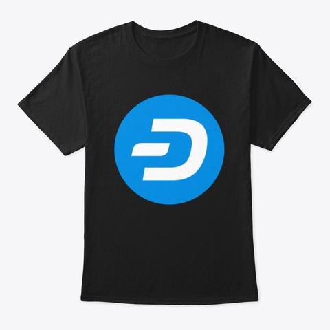Dash  Black T-Shirt Front