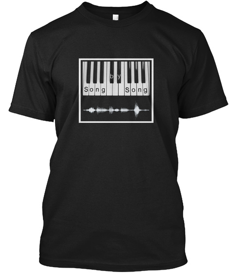 Somg By Song Black T-Shirt Front