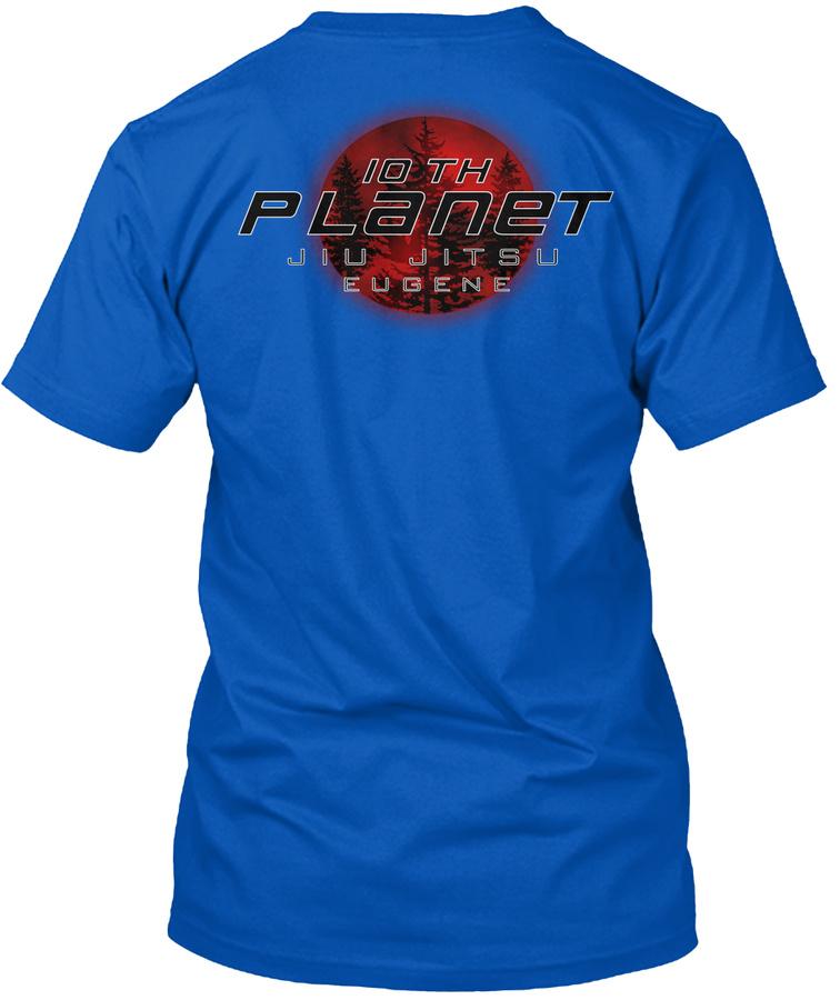 10th Planet Jiu Jitsu Eugene Shirts Unisex Tshirt