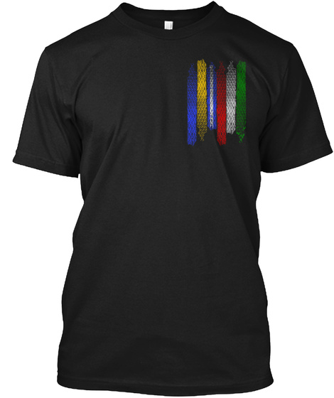 Warriors Shirt Black T-Shirt Front