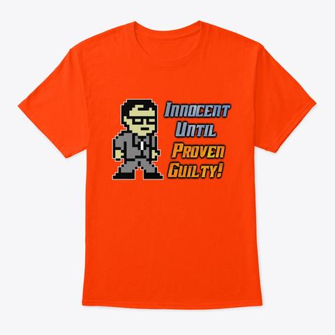 Iupg Sprite Logo Orange T-Shirt Front