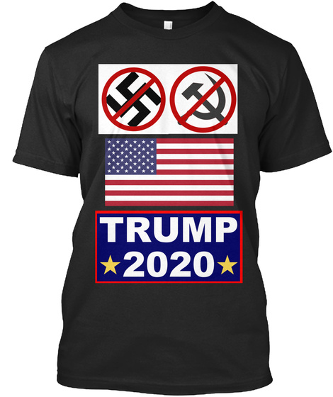 No Facsist No Commies TRUMP 2020