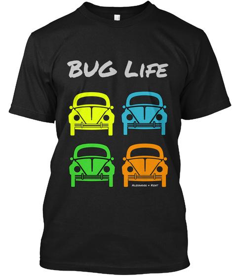Bug Life Alexander & Kent Black T-Shirt Front