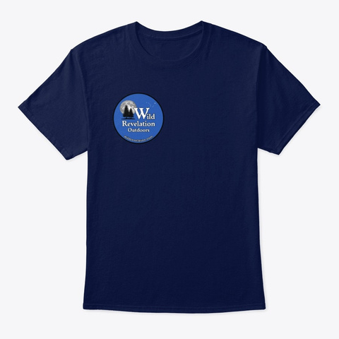 Explore Dream Discover Unisex Tee Navy T-Shirt Front