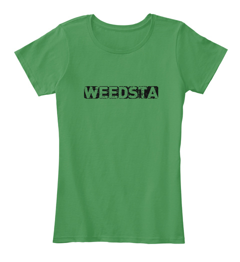 Weedsta T Shirt Kelly Green  T-Shirt Front