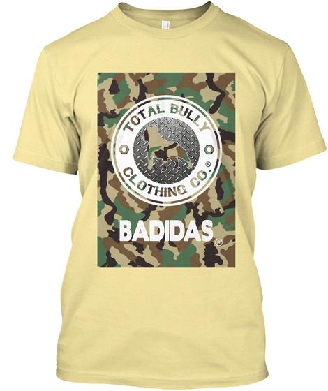 Badidas Banana Cream T-Shirt Front
