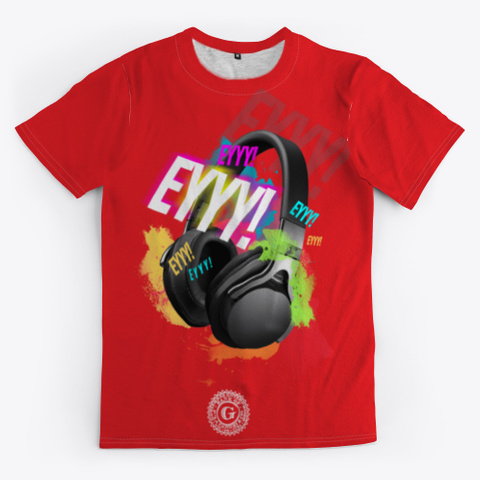 Limited Edition Ey!™ Red T-Shirt Front