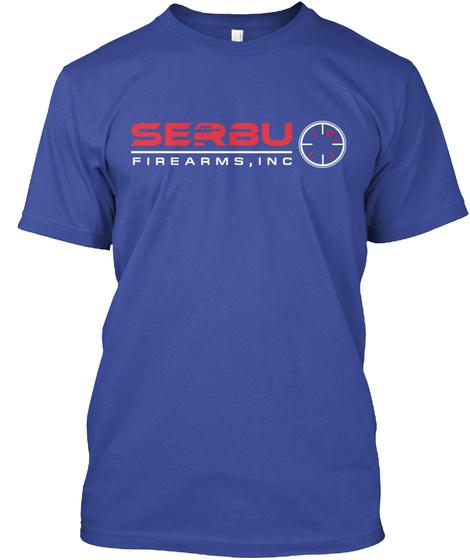 Serbu Firearms, Inc Deep Royal T-Shirt Front
