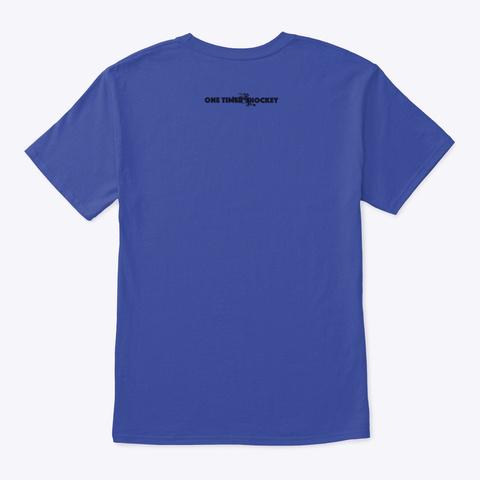 Save The Whale Deep Royal T-Shirt Back