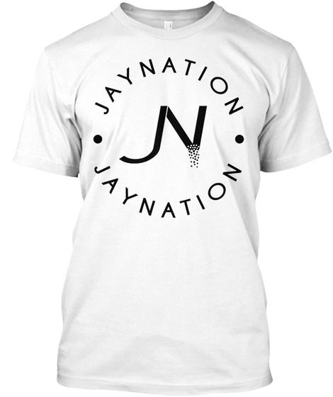 Jn Jaynation White White T-Shirt Front