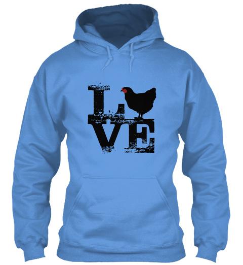 Love  Carolina Blue T-Shirt Front