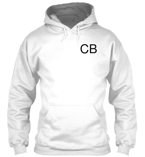 Cb White T-Shirt Front