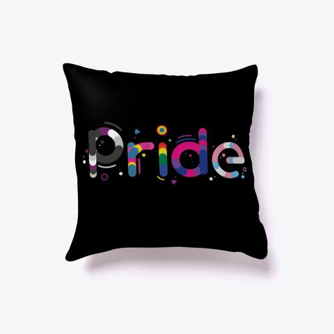 Pride Flags Lgbtq Colors   T Shirt Black T-Shirt Front