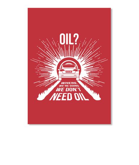 Oil? 3 Sticker [Int] #Sfsf Bright Red Sticker Front
