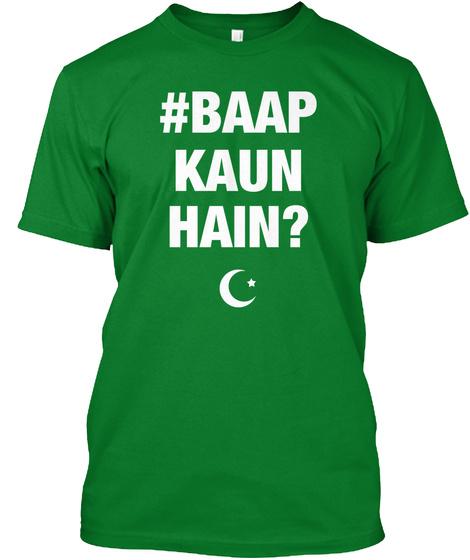 Baap Kaun Hain Bright Green Kaos Front