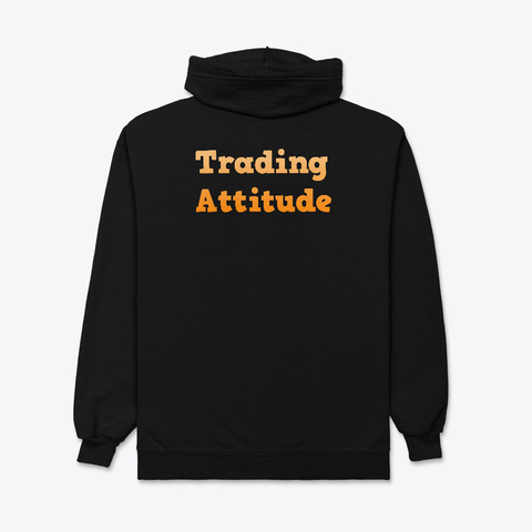Trading Attitude Orange Black T-Shirt Back