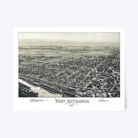 West Bethlehem Pa 1894 Standard T-Shirt Front