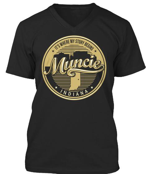 Muncie Its Where My Story Begins SweatShirt