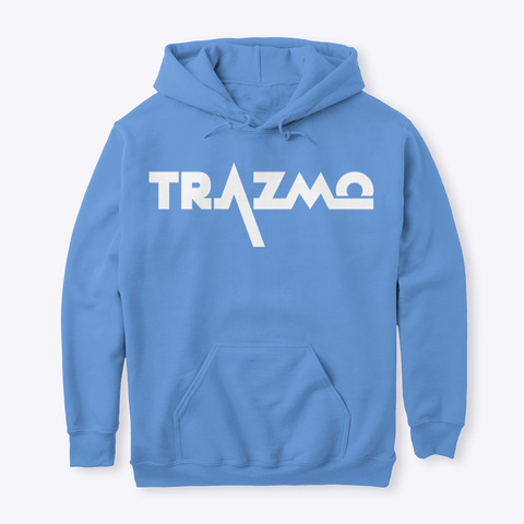 Trazmo Apparel Carolina Blue T-Shirt Front