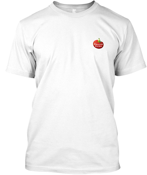 Almazan Kitchen White T-Shirt Front