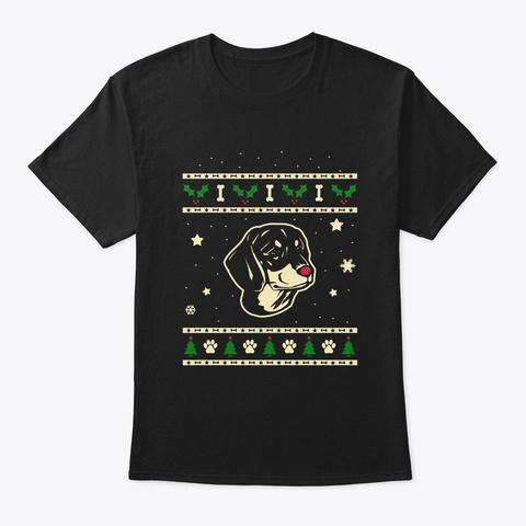Christmas Slovensky Kopov Gift Black T-Shirt Front